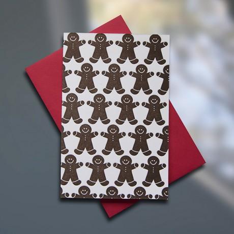 Gingerbread Men Pattern Mini