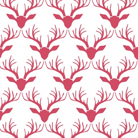 Antlers Pattern Gift Wrap