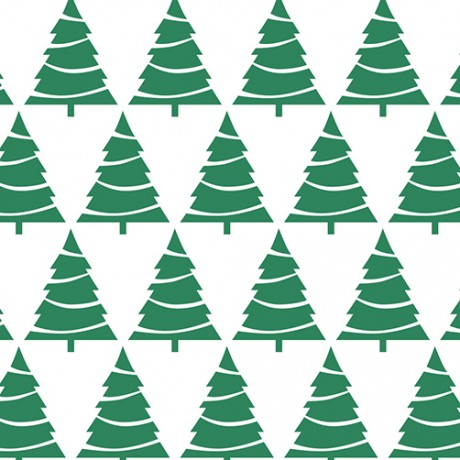 Xmas Tree Pattern Gift Wrap