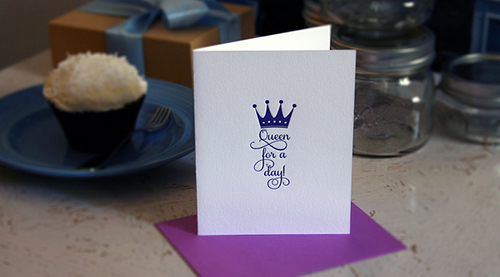 Queen for a Day Spring LetterBox