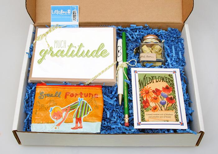 Gratitude LetterBox, $49.95