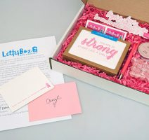 Breast Cancer Awareness LetterBox by Sky of Blue Cards