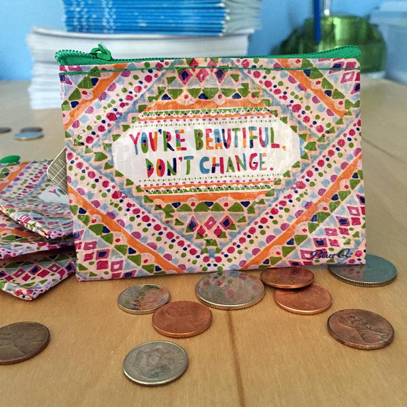 You're Beautiful Coin Purse