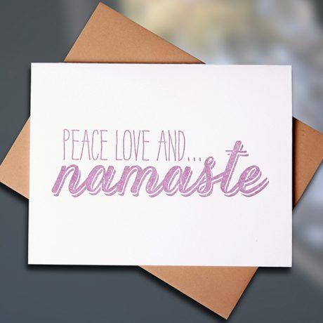 Namaste — Note Card