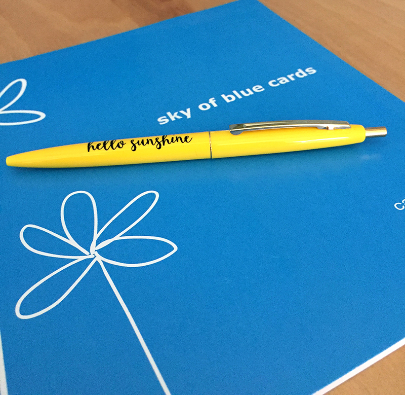 Hello Sunshine Pen