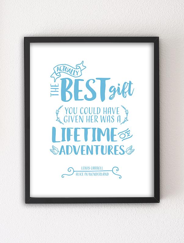 The Best Gift — 8×10 Art Print