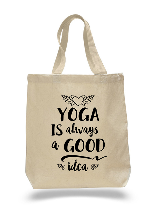 Yoga Good Idea Tote Bag