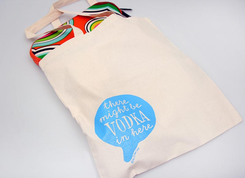 Might Be Vodka Tote Bag