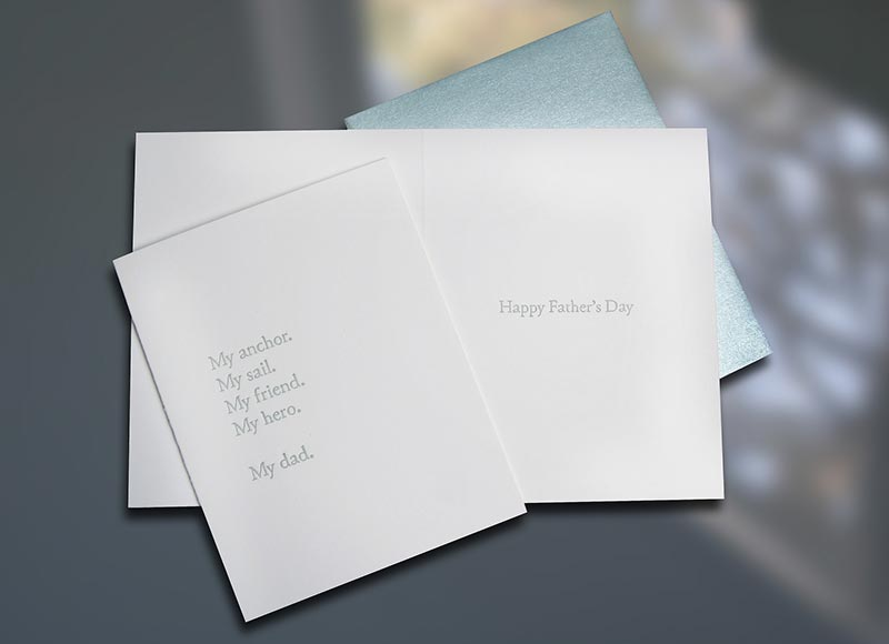 My Anchor — Father's Day Card
