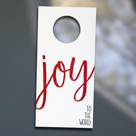 Joy Wine Tags