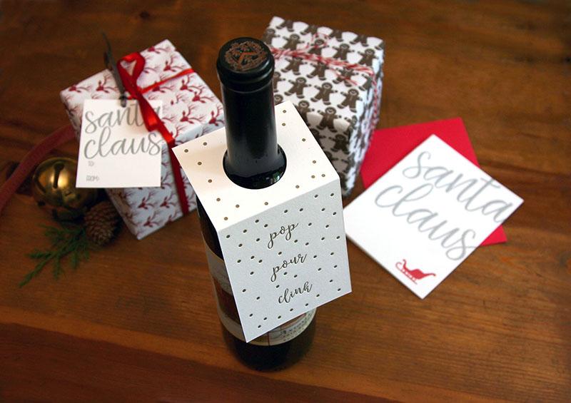 Pour, Pop, Clink Wine Tags