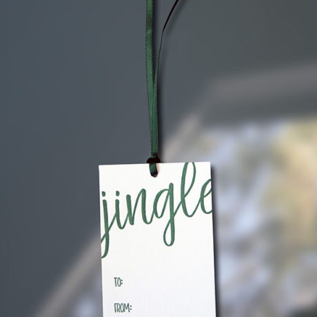 Jingle Gift Tag