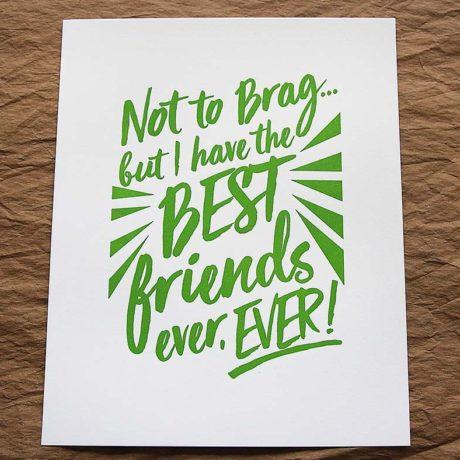 Best Friends Ever – 8×10 Art Print
