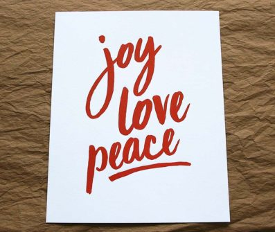 PeaceJoyLoveArtPrint