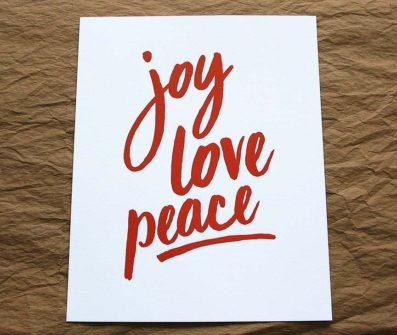 PeaceJoyLoveArtPrint