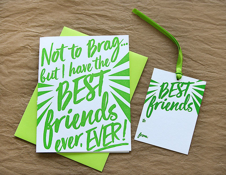 Best Friends Gift Tag