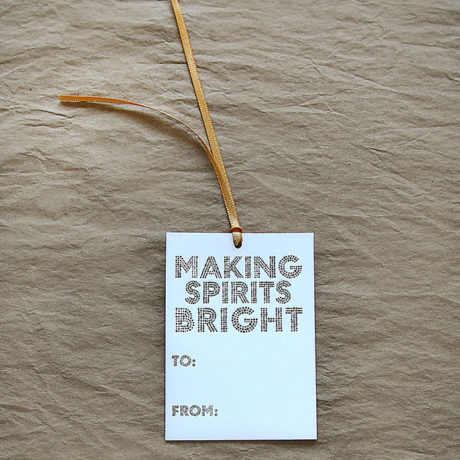 Making Spirits Bright Gift Tags