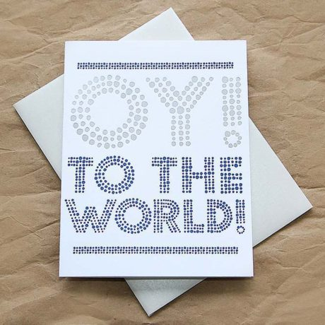 Oy to the World!
