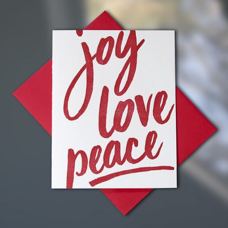 Joy, Love, Peace