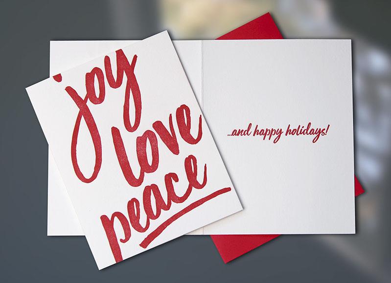 Joy, Love, Peace