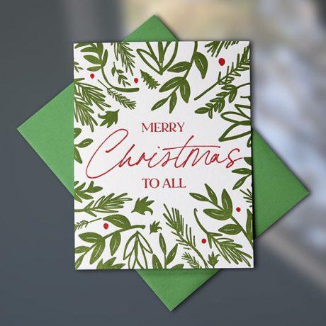 Merry Xmas Greenery