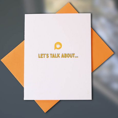 Let's Talk About – Conversation Collection