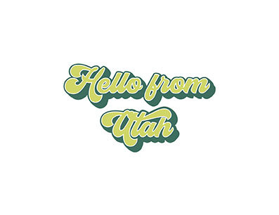 Hello From Utah