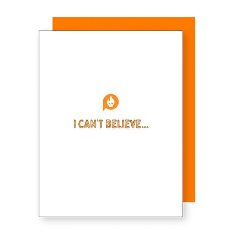 Can't Believe  – Conversation Collection