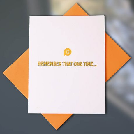 Remember That Time – Conversation Collection
