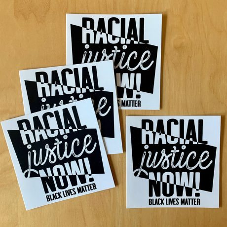 Racial Justice Now Sticker