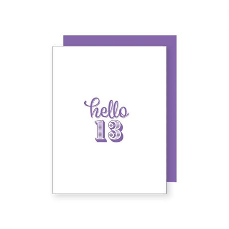 Hello 13