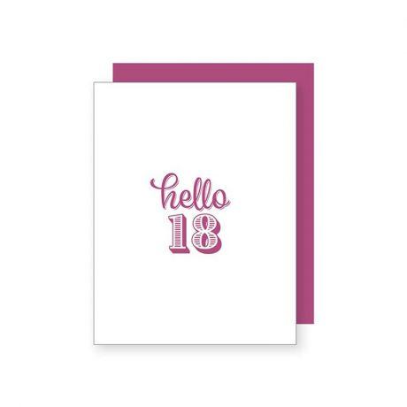 Hello 18